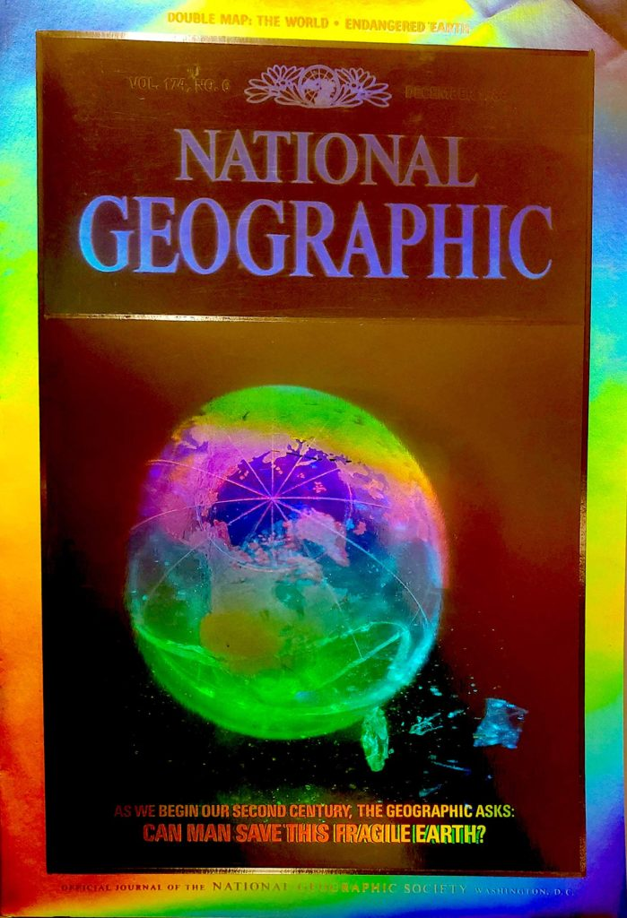 Holography cover National Geo